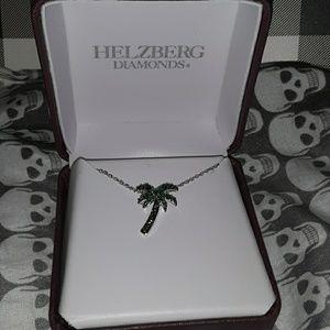 Helzberg Diamonds Palm Tree Necklace